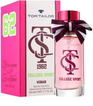 Tom Tailor College sport Eau de Toilette Damen 50 ml