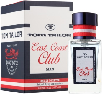 Tom Tailor East Coast Club Eau de Toilette für Herren 30 ml