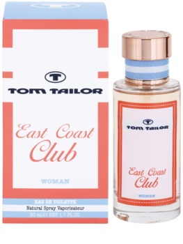 Tom Tailor East Coast Club eau de toilette pour femme 50 ml