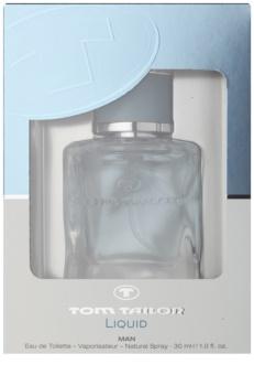 Tom Tailor Liquid Man Eau de Toillete για άνδρες 30 μλ