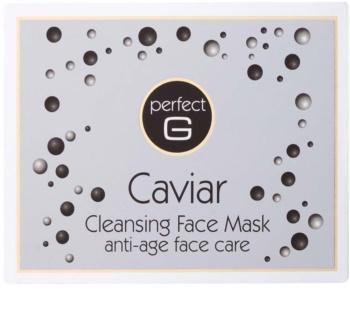 Tommy G Caviar Máscara facial de limpeza com efeito antirrugas