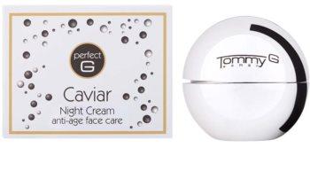 Tommy G Caviar nočný krém proti vráskam s kaviárom