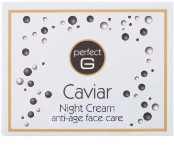 Tommy G Caviar noční krém proti vráskám s kaviárem