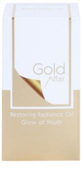 Tommy G Gold Affair regenerierendes Öl mit glättender Wirkung zur Verjüngung der Gesichtshaut