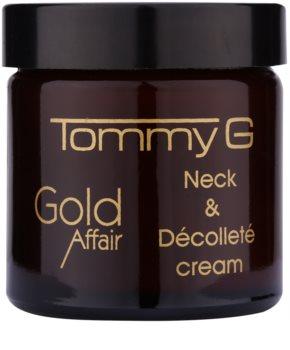 Tommy G Gold Affair creme rejuvenescedor para pescoço e decote