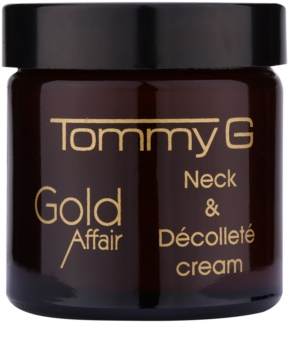 Tommy G Gold Affair verjüngende Creme für Hals und Dekolleté