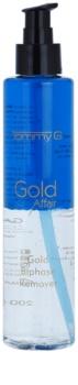 Tommy G Gold Affair desmaquillante bifásico para maquillaje resistente al agua para ojos sensibles
