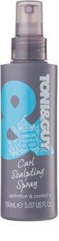 TONI&GUY Classic gel ve spreji pro vlnité vlasy