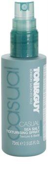 TONI&GUY Casual spray para dar definición al peinado con sal marina