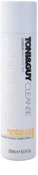 TONI&GUY Cleanse champô para cabelo loiro e grisalho