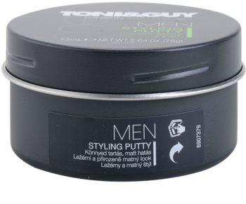 TONI&GUY Men vosk na vlasy pro matný vzhled