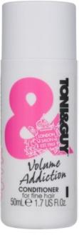 TONI&GUY Volume Addiction balzam za tanke lase