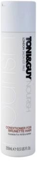 TONI&GUY Nourish kondicionér pro hnědé odstíny vlasů