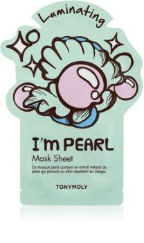 TONYMOLY I'm PEARL fehérítő gézmaszk