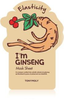 TONYMOLY I'm GINSENG Cellaag Masker voor Intensieve Gezichts Versteviging en Verheldering