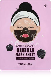 TONYMOLY Earth Beauty Bubble maschera detergente viso