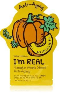 TONYMOLY I'm REAL Pumpkin Sheet Mask with Anti-Wrinkle Effect