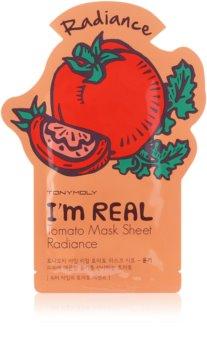 TONYMOLY I'm REAL Tomato masque tissu brillance et vitalité