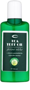 Topvet Tea Tree Oil Milch für problematische Haut, Akne