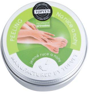 Topvet Body Care peeling na ruce a nohy