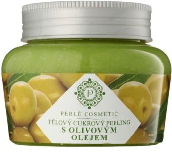 Topvet Body Scrub cukrový peeling s olivovým olejom