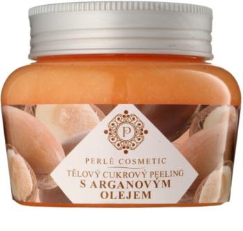 Topvet Body Scrub cukrový peeling s arganovým olejom