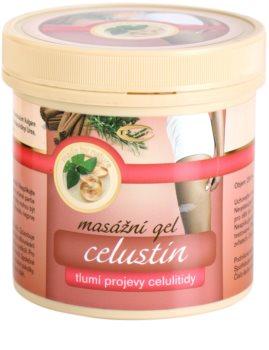 Topvet Celustin żel do masażu łagodzi objawy cellulitu