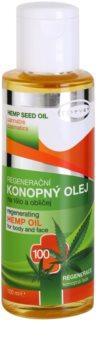 Topvet Hemp Seed Oil óleo de cannabis para corpo e rosto