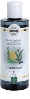 Topvet Lymforegen masážní olej - lymfodrenážní