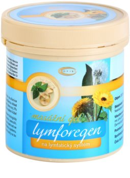 Topvet Lymforegen Massage Gel Accelerating Recovery After Increased Physical Activity