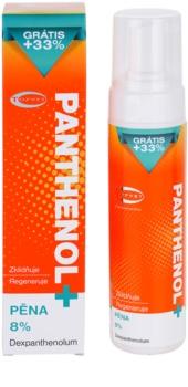 Topvet Panthenol + nyugtató hab testre napozás után