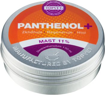 Topvet Panthenol + ukľudňujúca masť na pleť