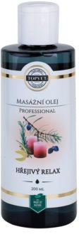 Topvet Professional ulei relaxant pentru masaj - cald