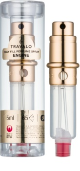 Travalo Engine Refillable Atomiser unisex 5 ml Refill gold