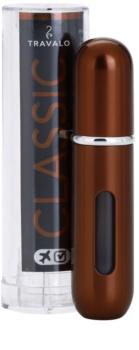 Travalo Classic HD polnilno razpršilo za parfum uniseks 5 ml  odtenek Brown