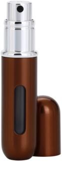 Travalo Classic HD szórófejes parfüm utántöltő palack unisex 5 ml  árnyalat Brown