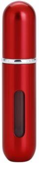 Travalo Classic HD nachfüllbarer Flakon mit Zerstäuber unisex 5 ml  Farbton Red