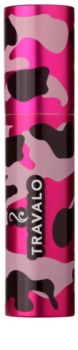 Travalo Classic recipient de plastic pentru parfum reîncărcabil. unisex    Camouflage Pink