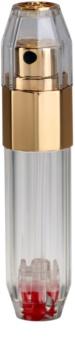 Travalo Crystal Gold napełnialny flakon z atomizerem unisex 5 ml