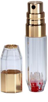 Travalo Crystal Gold Refillable Atomiser unisex 5 ml