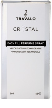 Travalo Crystal Silver Refillable Atomiser unisex 5 ml