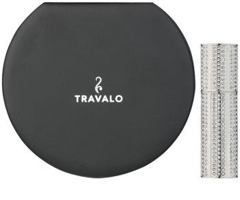 Travalo Divine ψεκαστήρας αρώματος με κρύσταλλα swarovski unisex Silver 5 μλ