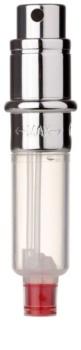 Travalo Engine nachfüllbarer Flakon mit Zerstäuber unisex 5 ml Ersatzfüllung silver