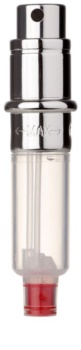 Travalo Engine Navulbare Parfum verstuiver Unisex 5 ml Vervangende Vulling  silver