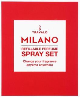 Travalo Milano Geschenkset I. Red