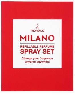 Travalo Milano zestaw upominkowy I. Red