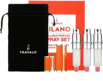Travalo Milano Geschenkset IV. Orange