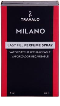 Travalo Milano nachfüllbarer Flakon mit Zerstäuber unisex 5 ml  Hot Pink