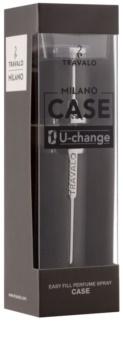 Travalo Milano Case U-change Μεταλλική θήκη για ψεκαστήρα αρωμάτων unisex    Grey