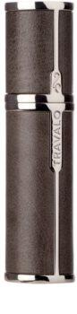 Travalo Milano Case U-change confezione in metallo per diffusore di profumi ricaricabile unisex    Grey